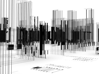 abstract architecture.City blueprint.